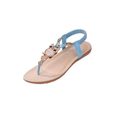 ad922f770225 Vectry Sandalen Damen Frauen Bandage Knöchel Wrap Espadrille Flachen  Sandalen Flip-Flop Sommer Lace up
