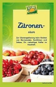 Ácido cítrico natural Bolsa de 10g Bio Vita | Ácido cítrico de alimentos orgánicos - Regulador de acidez 100% natural
