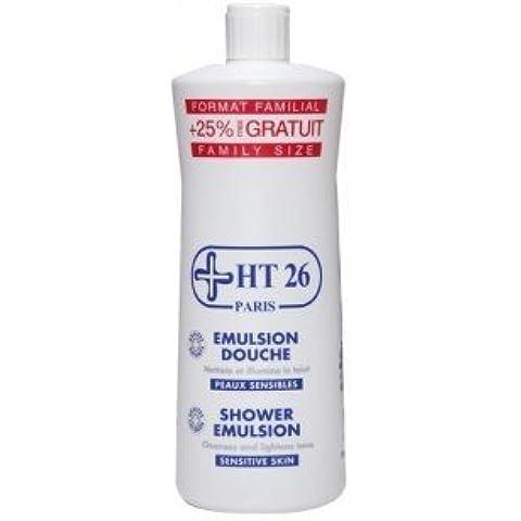 HT 26 SHOWER EMULSION FOR CLEANSES AND LIGHTENS SKIN TONE/SENSITIVE SKIN (1000ML) by HT26
