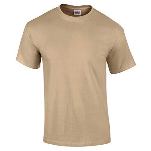 Gildan Ultra Baumwoll-T Shirt Gr. X-Large, hautfarben (1 Kids Ringer T-shirt)
