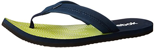 Reebok Men's Possession Iv Lp Green, Blue and White Flip-Flops and House Slippers  - 8 UK  available at amazon for Rs.599