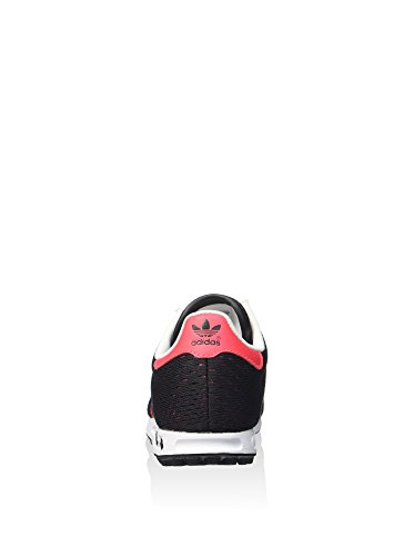 Adidas - Adidas La Trainer Em K Scarpe Sportive Bambino Nere Tela S78984 Nero