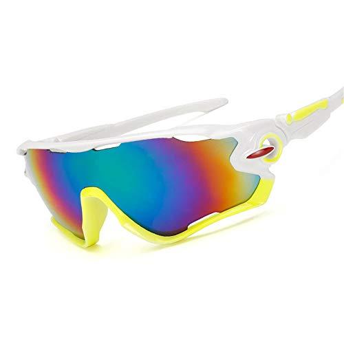 Yuqianqian Polarisierte Sportbrille Sonnenbrille Fahrradbrill Polarized Sports Sunglasses Herren und Damen Baseball Brillengestell Reiten Laufen Angeln Golf Brillen
