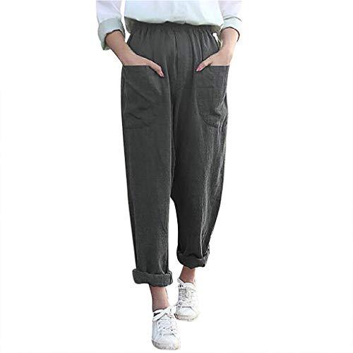 Jerry Tragen Kostüm - Watopi Damen Hosen Lang Sommerhose Einfarbig