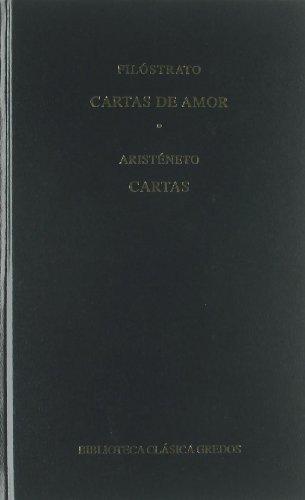 382. Cartas de amor - Cartas (B. BÁSICA GREDOS) por Filostrato ...