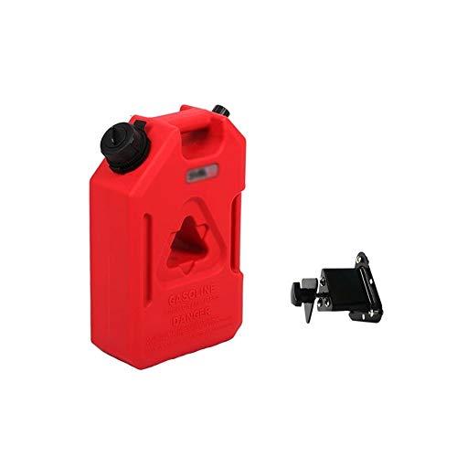 CL- Tragbarer Kraftstoffbehälter Tragbarer Kraftstofftank, dickes und hochfestes Polyethylen, integrierte, kompakte und vielseitig einsetzbare antistatische Rotationsformöltrommel, geeignet für Kurzst (Gas-tank-schneemobil)