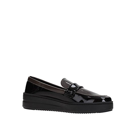 The FLEXX C1503-10 Mocassino Donna BLACK/ASFALTO