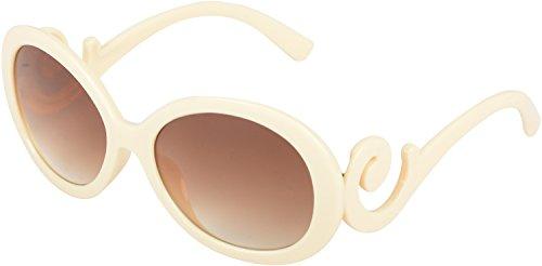 My Wardrobe Butterfly Women's Sunglasses (Ovalcream |38.1 | Brown)