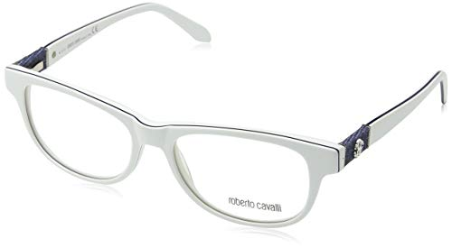 Roberto Cavalli Brillengestelle (Roberto Cavalli Damen Rc0688 024-54-16-140 Brillengestelle, Weiß, 54)