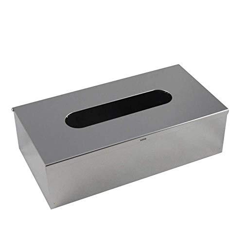 LYH 1 STÜCK Tissue BoxRechteck Tissue Box Gesichts Wand Edelstahl Leicht zu Reinigen Wasserdicht für Bad Kommoden