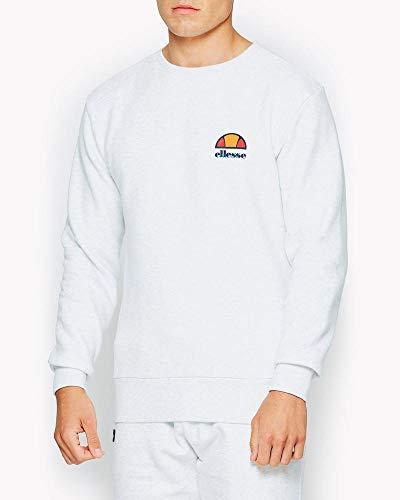 ellesse Herren Sweatshirt Diveria Offwhite (20) M Plain Sweatshirt Herren