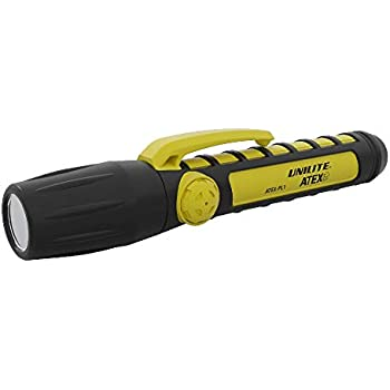 NEW BOXED UNILITE ATEX FL-4 CREE XP LED INTRINSICALLY SAFE TORCH INC BATTERIES
