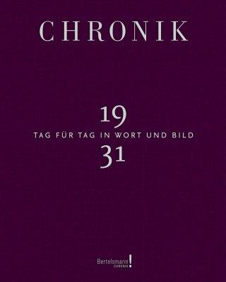 Chronik Jubiläumsband 1931