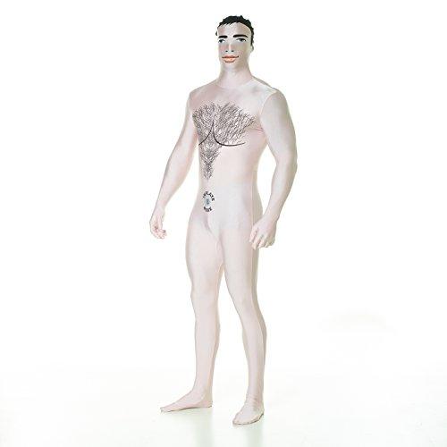 Morphsuits MPBDM2 - Gummipuppe Männerpuppe  Morphsuit Erwachsene Kostüme XXL 6 Zoll 1 - 6 Zoll 9, 186 cm - 210 cm, XXL, (Doll Kostüme Sex)