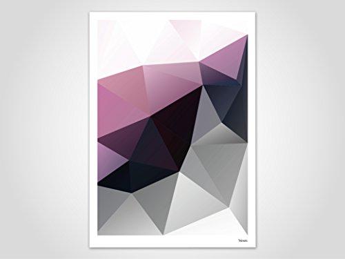Aubergine / Poster, Bild, Kunstdruck, Skandinavisch (Valentinstag Freundschaft Karten)