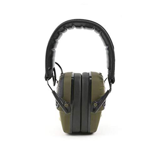 funny feng Schieß-Ohrenschützer, Jagd Ohrenschützer Lärmminderung Elektronischer Gehörschutz, Abnehmbares Headset Gehörschutz, Ideal Zum Schießen Und Jagen.