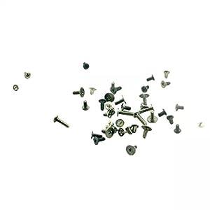 Goliton® Vollständiger Ersatz Schrauben Set für iPad mini 2 - Schwarz