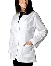 HORCH Women's White Small Lab Coat (Lab Apron)