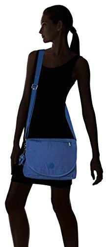 Kipling - Orleane, Borse a tracolla Donna Blu (Jazzy Blue)
