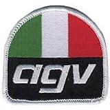 AGV motocicleta Logo bordado parche con 6,35 cm coser-en o hierro-en