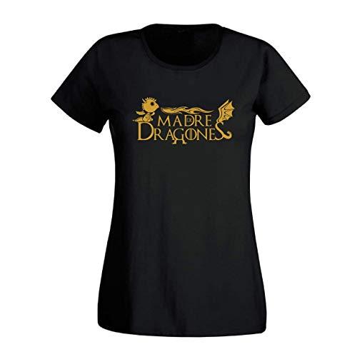 Camiseta TS-M Madre de dragones (Slim)