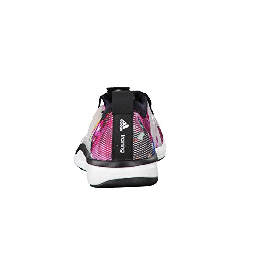 adidas Damen Core Grace Turnschuhe Blanco / Blanco / Verde (Ftwbla / Ftwbla / Seliso)