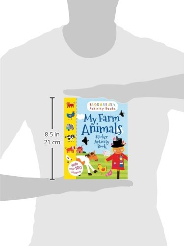 Bloomsbury Activity and Sticker Books My Farm Animals (Animals Sticker Activity Books)