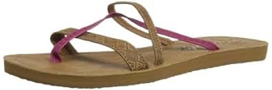 Rip Curl Womens Jordan Thong Sandals TGTAJ1 Tan 4 UK, 37 EU