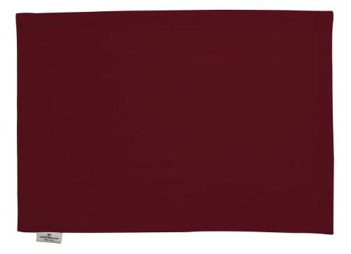 TOM TAILOR 580703 Tischset T-Dove 35 x 50 cm, 6 Stück dunkelrot