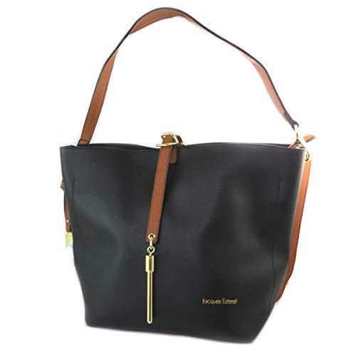 db78cb7f43 Jacques ESTEREL [Q2132] - Creative bag 'Jacques Esterel' black - 35x27x16 cm
