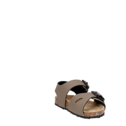 Grünland AFRE SB0413 beige taupe sandales bébé boucles Birk TORTORA