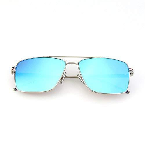 Stil der quadratischen Rahmen Flut Sonnenbrille die Sonne der Spiegel Männer und Frauen Mode Sein Teil des Lichts zu Fahren, um einen Fahrerspiegel zu Fahren, um zusammen mit Einer Scheibe z