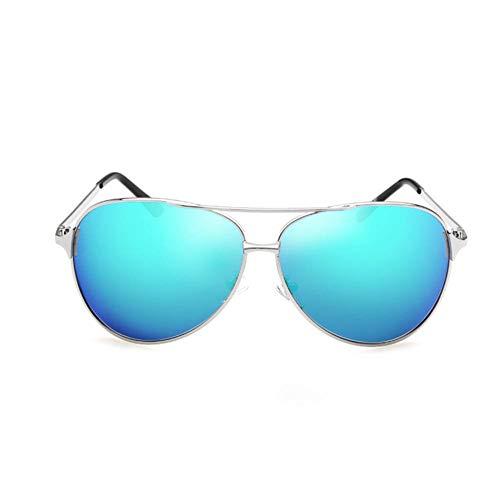 Sonnenbrillen Herren Polarisierte Mode Trend Fahrspiegel Big Box Persönlichkeit Gesungen