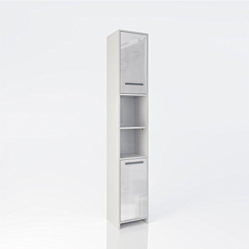 Badschrank Badezimmerschrank Hochschrank - Badmöbel Schrank
