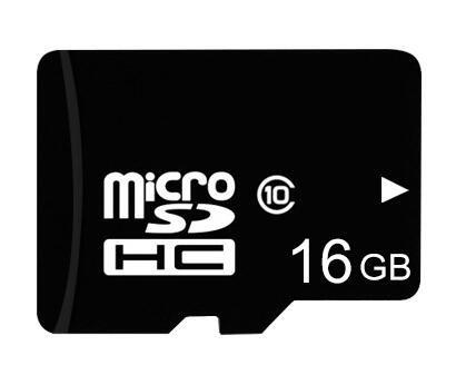Ronsen 16GB Tarjeta de Memoria MicroSDHC Class 10 con Adaptador de Tarjeta SD