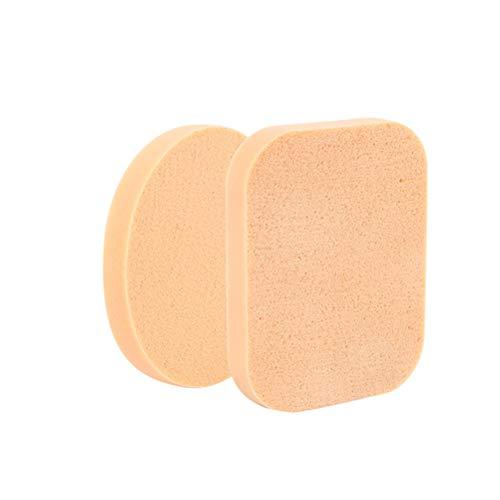 SUPVOX Esponja cosmética Cojín Polvo Puff Rectángulo