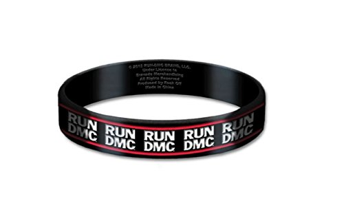 offiziell Run DMC Armband classic band Logo Nue 10mm Rubber