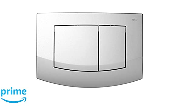 TECE Teceambia 9240200 Cover Plate with 2/Flushes of Different Powers White