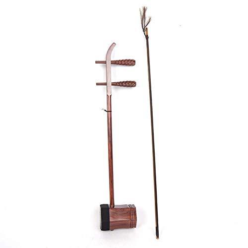 Ayqa Siamesisches Rosenholz Jing Erhu Xipi nationales spielendes Instrument handgemachtes Erhu