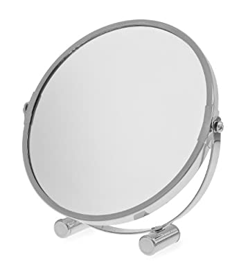 Blue Canyon Free Standing Small Platform Swivel Shaving/ Make Up Mirror