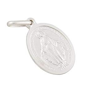 AFP Anhänger Madonna Heilige Maria 925 Sterling Silber AS-539