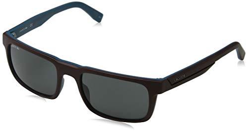 Lacoste Herren L866S 604 56 Sonnenbrille, Matte Burgundy,