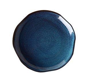 Platten, Keramik, kreative Keramik, Platten, Haushalt Geschirr, 8 Zoll Gerichte, Salat Teller, westliche Gerichte,8 Zoll Pflaume- platte -