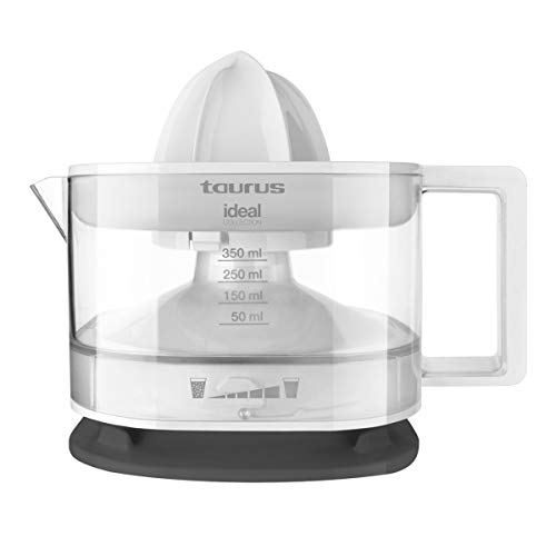 Taurus Ideal Collection PTCJF201 Exprimidor de zumo, 25 W, 350 ml, Filtro pulpa ajustable, Plastic