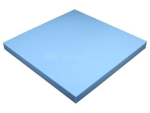 Schaumstoffplatte 50x50cm Schaumstoff Kissen Schaumstoffpolster - extra formstabil - 4cm dick