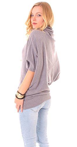 Easy Young Fashion -  Maglione  - Donna Grigio