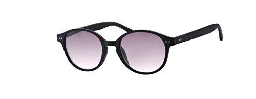 Lesebrille Sonnenbrille InFocus Modell R6800 in 3 Farben und 5 Dioptrien (2.50, Black)