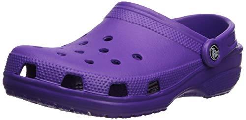 Crocs Unisex-Erwachsene Classic Clogs, Violett (Neon Purple), 38/39 EU -