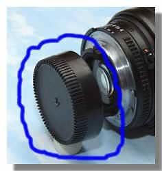SHOPEE BRANDED Brand new Rear Lens Cap / Cover For nikon a/f Lens 18-55mm