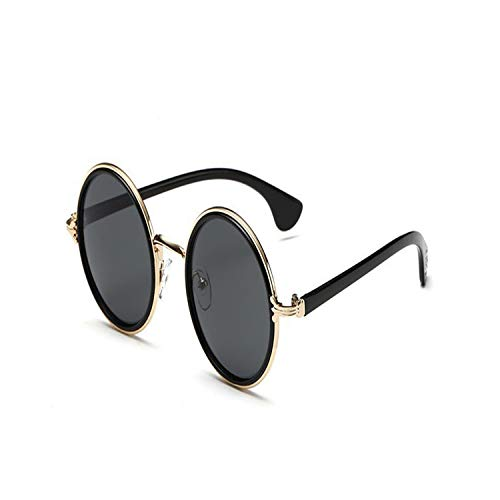 Sport-Sonnenbrillen, Vintage Sonnenbrillen, Retro Round Sunglasses Women Men Brand Designer Alloy Female Sun Glasses Men Oculos De Sol Feminino Lunette Soleil 2